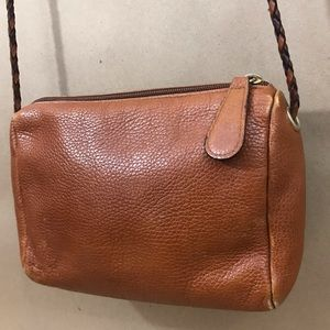 Desmo for Bloomingdales crossbody leather bag